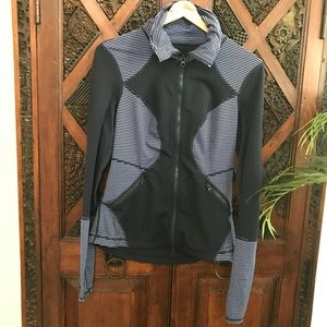 Zella Blue Running Warm-Up Jacket Size M